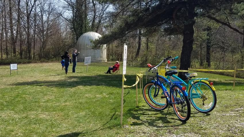 Bicycles at Link Observatory