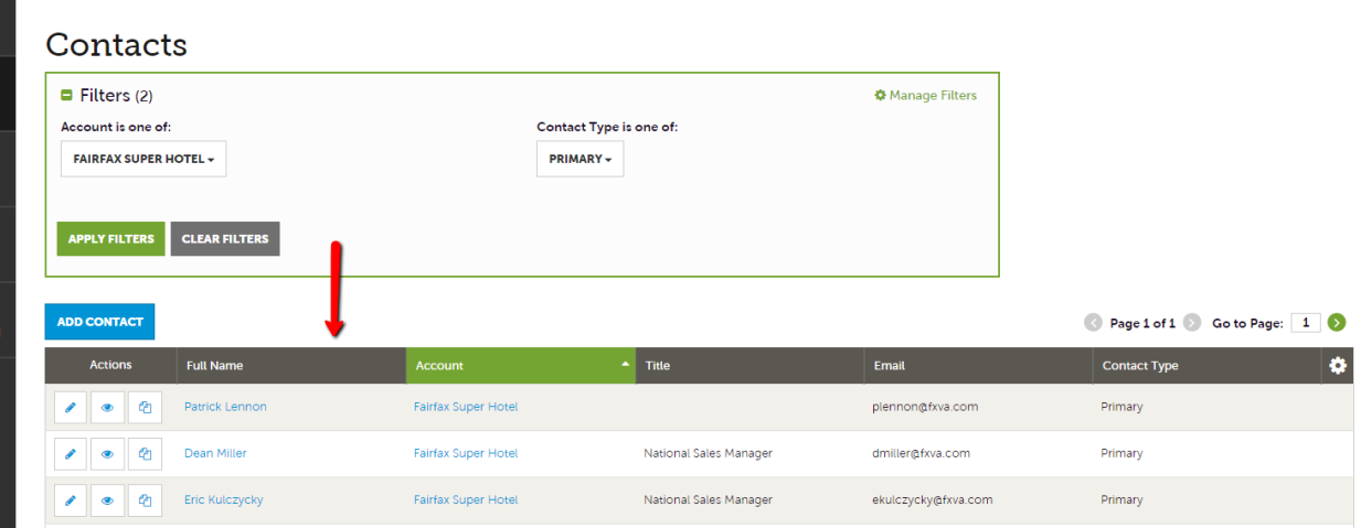 Extranet Guides - Manage Contacts 2
