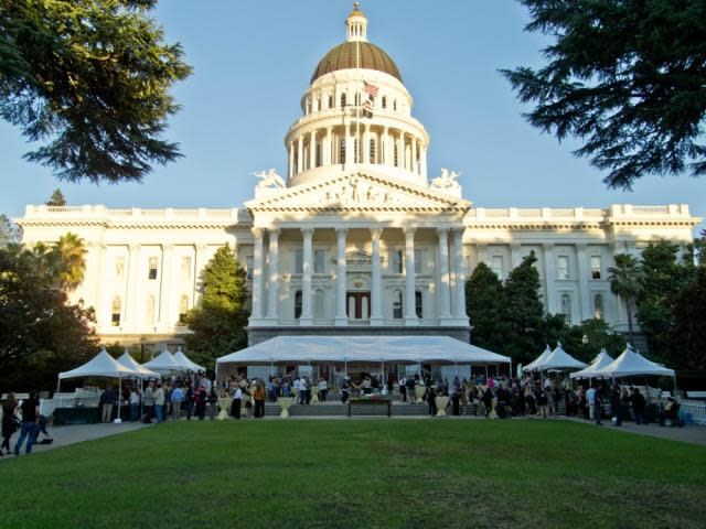 Farm to Fork Legends of Wine California State Capitol Wine Tasting Event