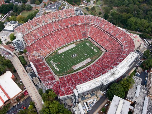 UGA Football Stadium