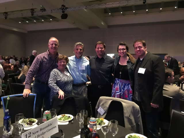 Members on the New Braunfels delegation at the 2018 TTIA Unity Dinner