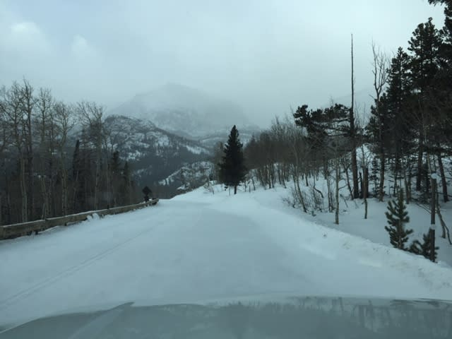 Bear Lake Road 12/24/18 Shutdown