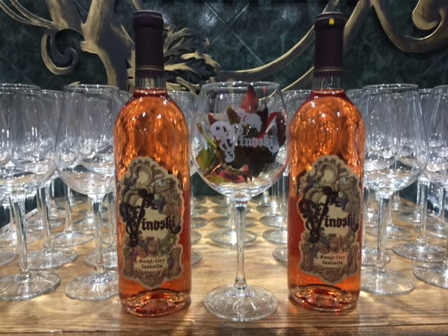 Semi-Dry Isabella Vinoski Winery