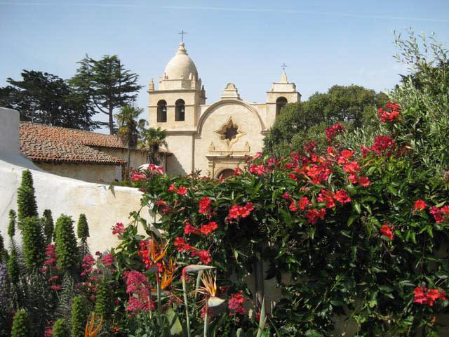 Carmel Mission, photo by Thom Diggins
