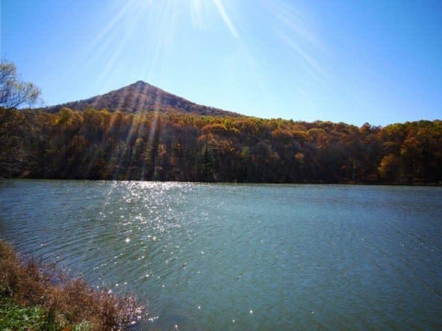 Abbott Lake Peaks of Otter - Fall Photo