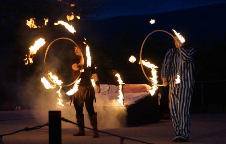 Kinshria Fire Dancers