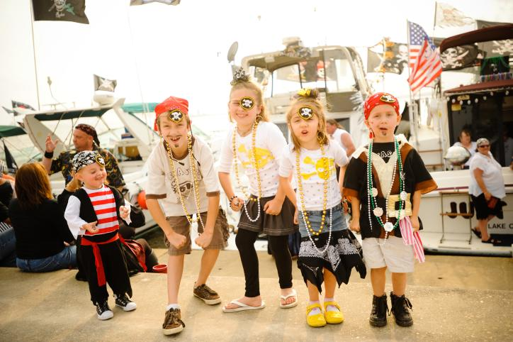 Kid Pirates at Contraband Days