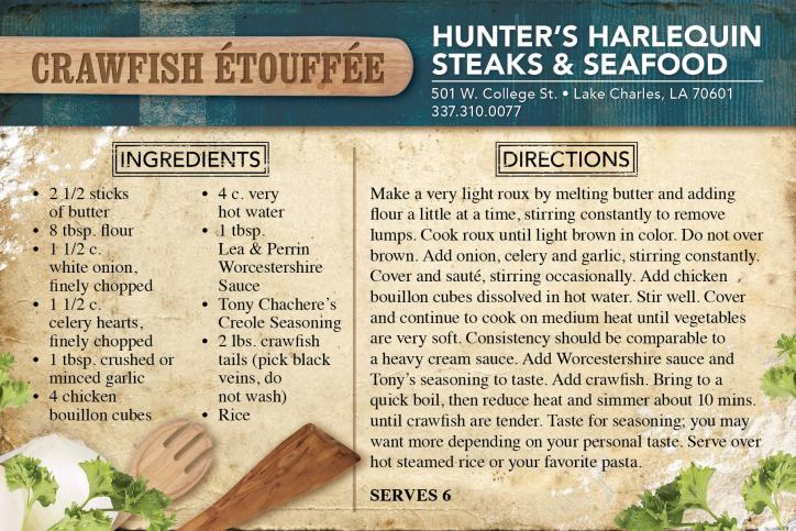 Harlequin Steak & Seafood Recipe