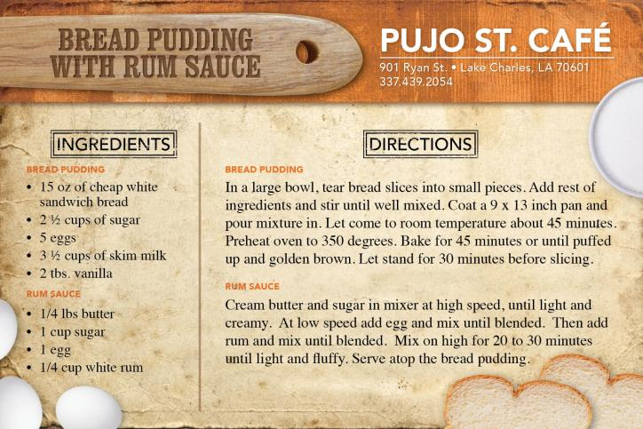 Pujo Street Cafe Recipe