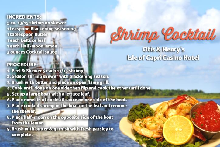 Shrimp Cocktail Recipe Card