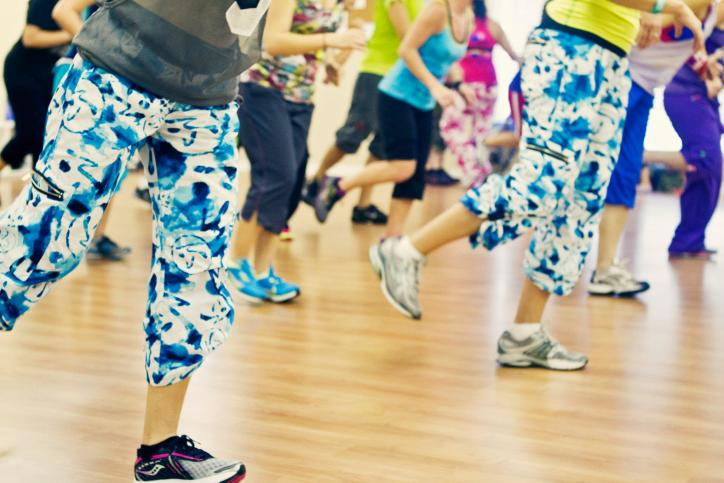 Zumba classes can be paid for individually - making them a great choice for travelers.