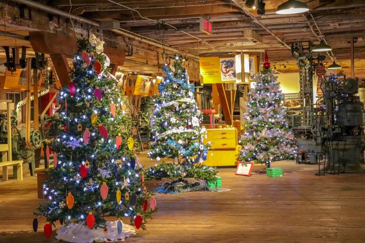 Festival of Trees - Photo: Gulf of Georgia Cannery Society