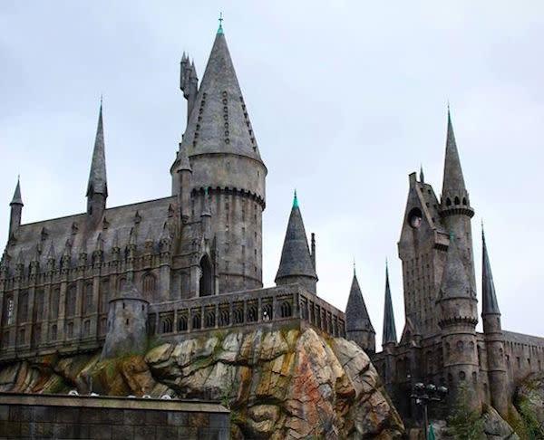Hogwarts Castle Photo by @whimsicalsnapshotphotography