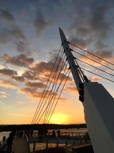 Grant Street Pier sunset