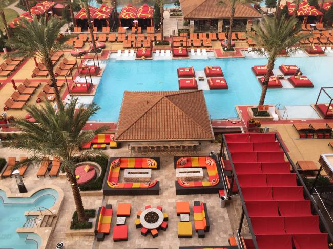 Golden Nugget Pool; New casino in Lake Charles; Lake Charles casinos; Casinos in Louisiana