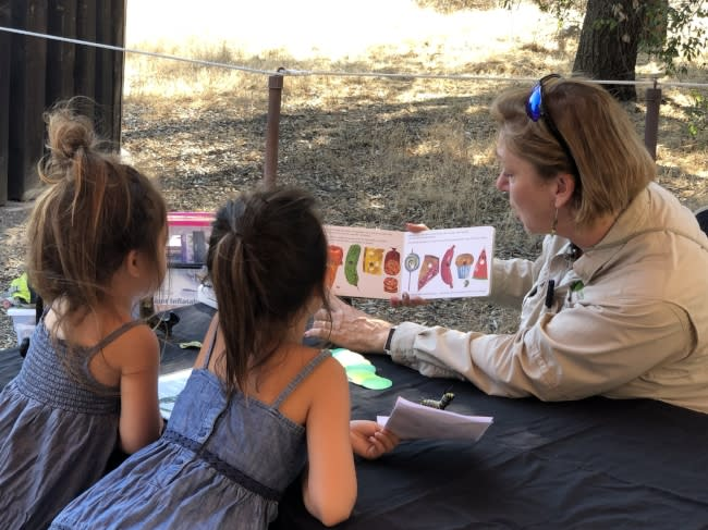 Children Learning at Irvine Ranch Natural Landmarks