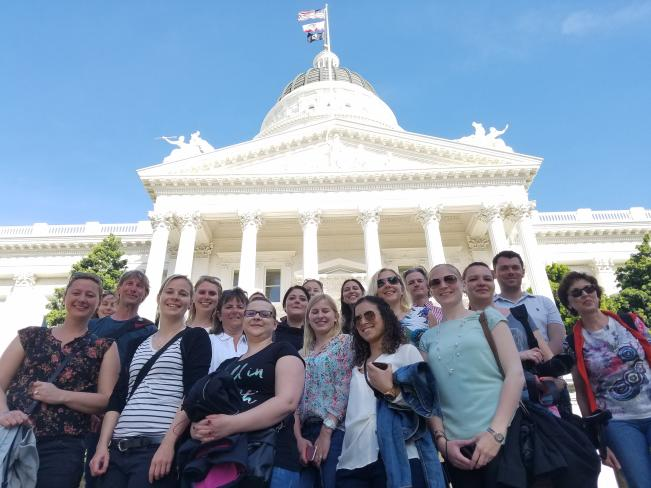 State Capitol Tour Group