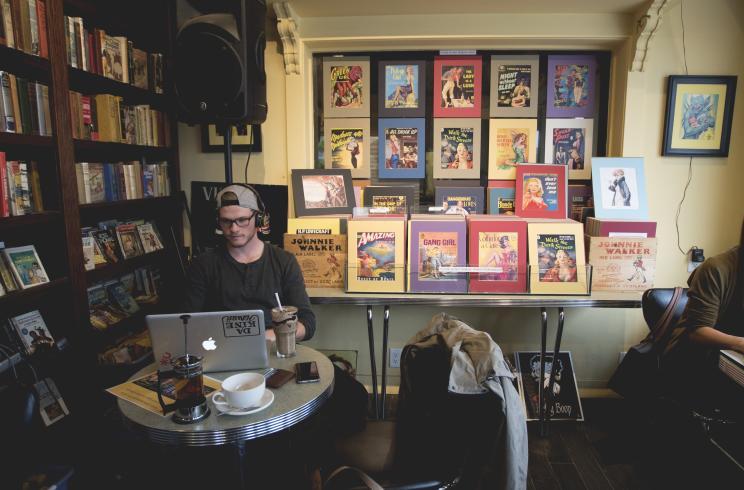 Pulp Fiction Coffee House