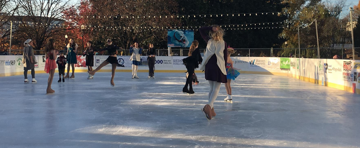 Ice Skating at the Huntsville Museum of Art