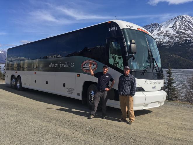 Alaska Fjordlines Motor Coach