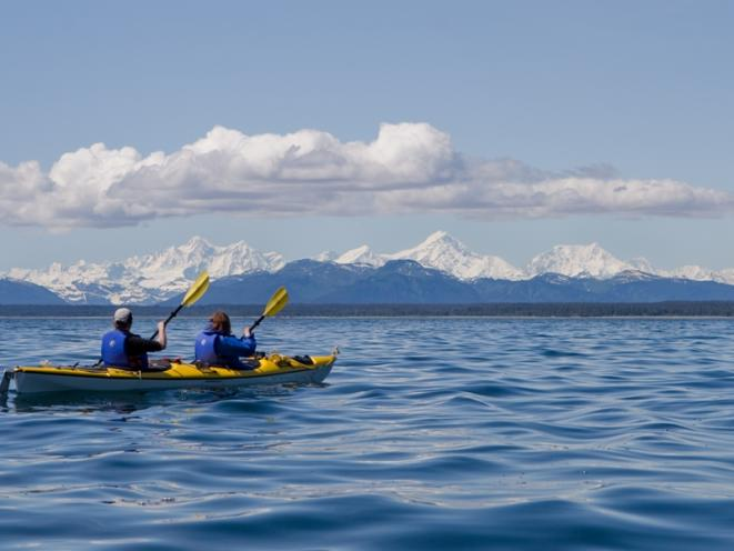 Kayaking with Spirit Walker Expeditions