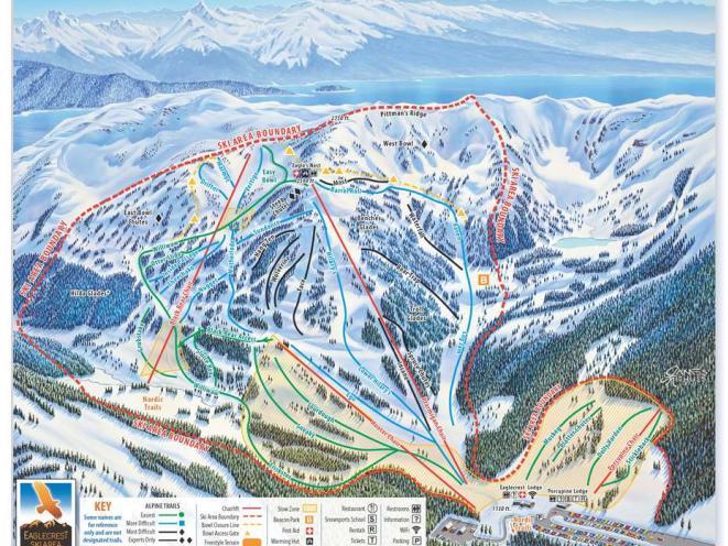 Eaglecrest Trail Map