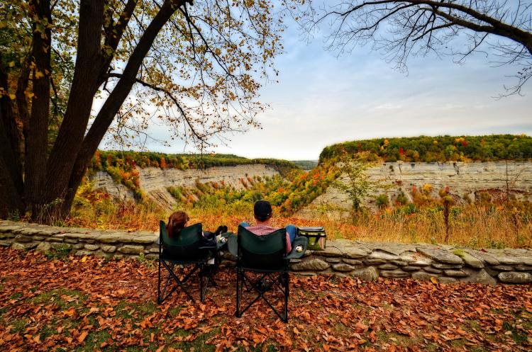 Livingston - Fall Letchworth State Park