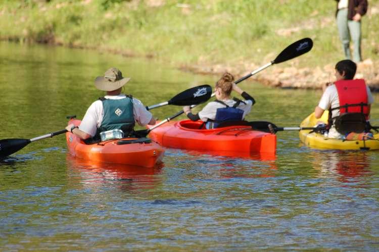 Afternoon Kayaking