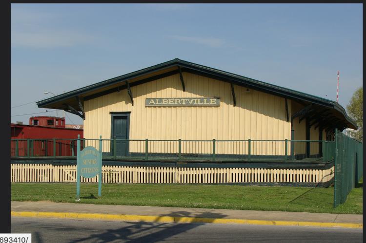 Albertville Train Depot