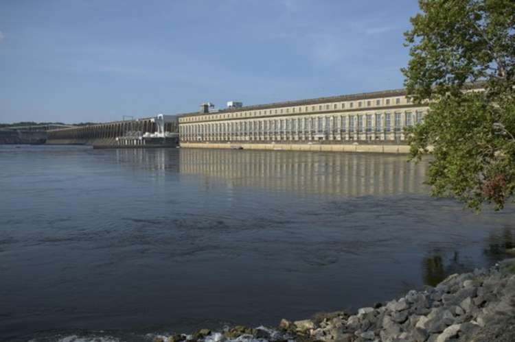 Wilson Dam and Reservoir