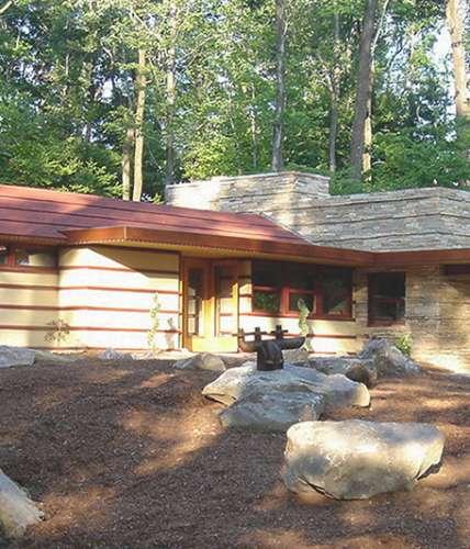 Frank Lloyd Wright's Duncan House at Polymath Park Tours