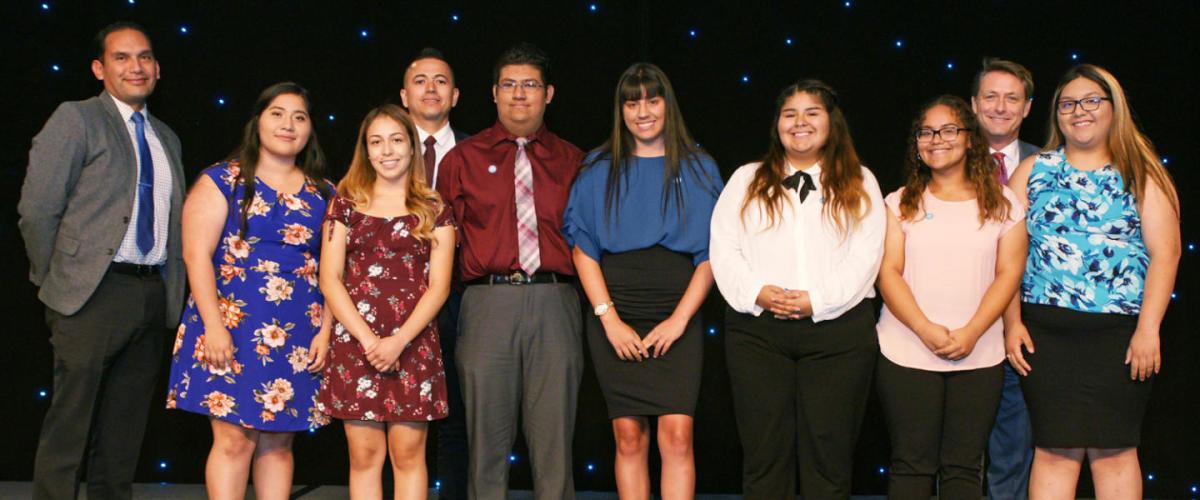 2018 Oasis Award Winner Students