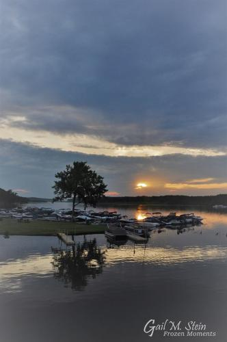 Saratoga Lake at sunrise