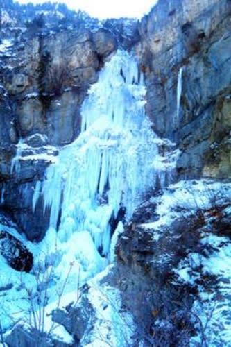 Stewart Falls Winter