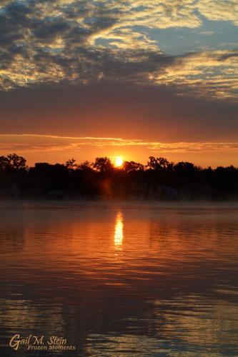 Saratoga Lake sunrise