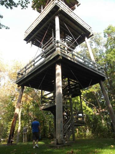 """Hoffman Hills Observatory Tower"""