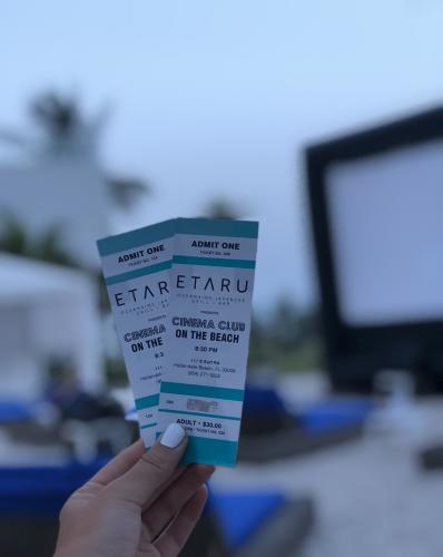 Two tickets for ETARU Cinema Club in Fort Lauderdale