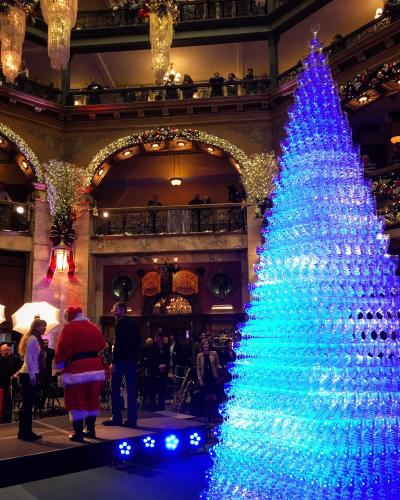 Optical Masters Of Denver: The Brown Palace's Champage Cascade