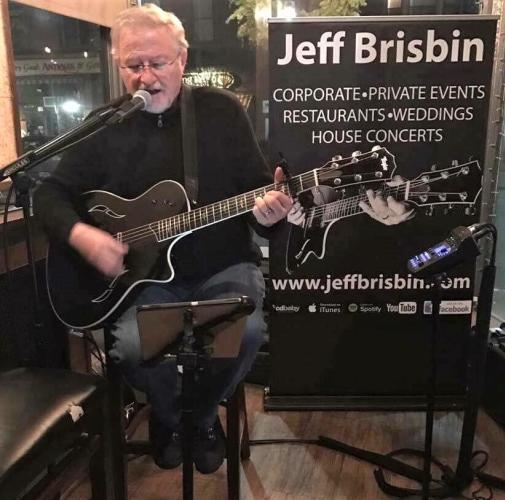 Jeff Brisbin performing at Henry's