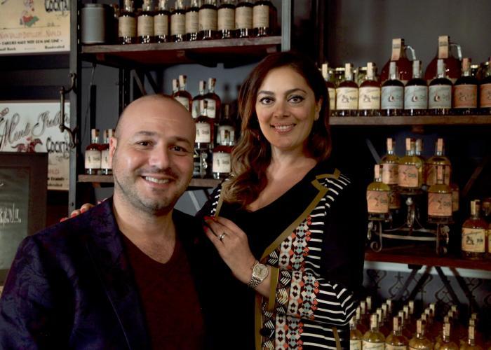 Arthur and Lusine Hartunian, Napa Valley Distillery