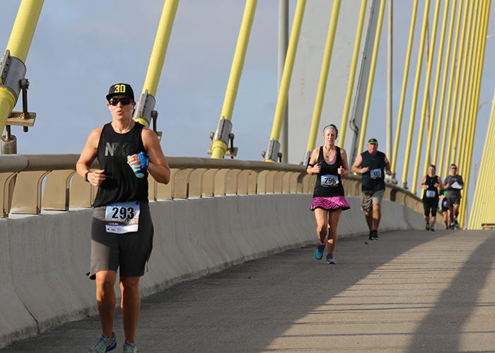 Jail Break Runners on Bridge - Baytown