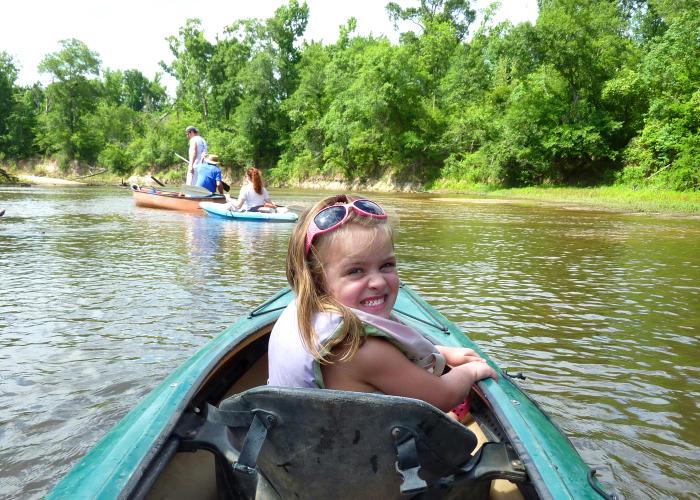 Beaumont kayaking