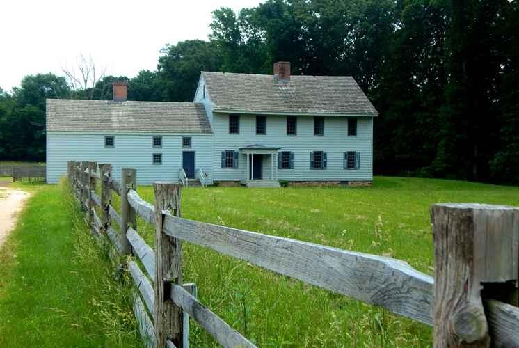 Rockingham farm house
