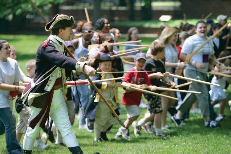 Valley Forge Park Annual Events - Join the Continental Army