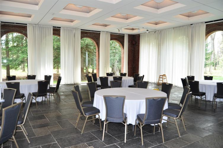 Gideon Putnam Empty Banquet Room