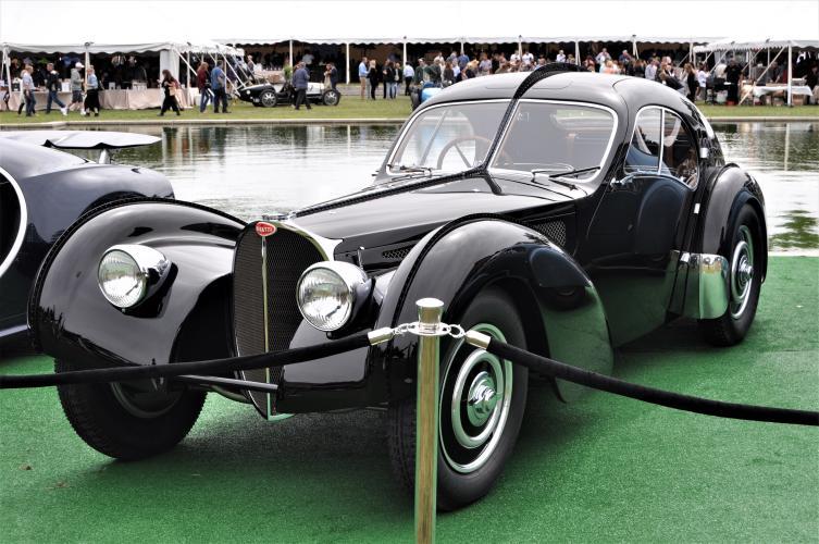 Ralph Lauren's car