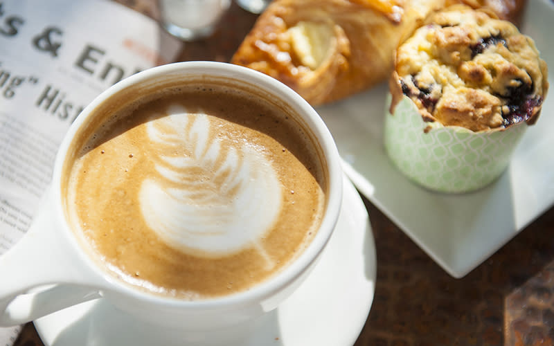 Coffee served at Bodacious Brew