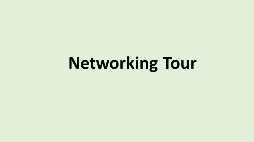 SE Networking tour u ukenr