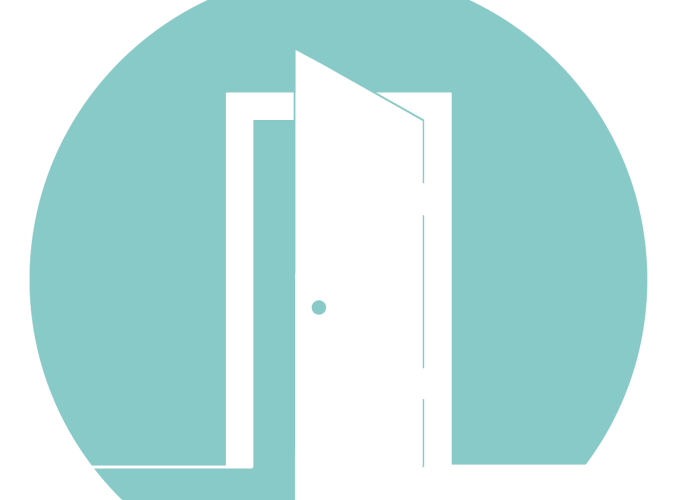 Teal Door Hosting Logo