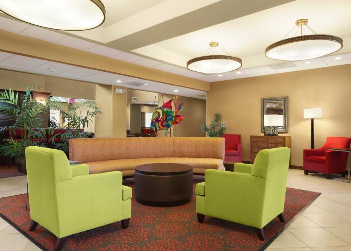 Homewood Suites Brandon Florida Hotel Lobby Seating